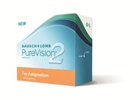 PureVision 2 HD For Astigmatism Linsenpackung. Bild: Bausch&Lomb