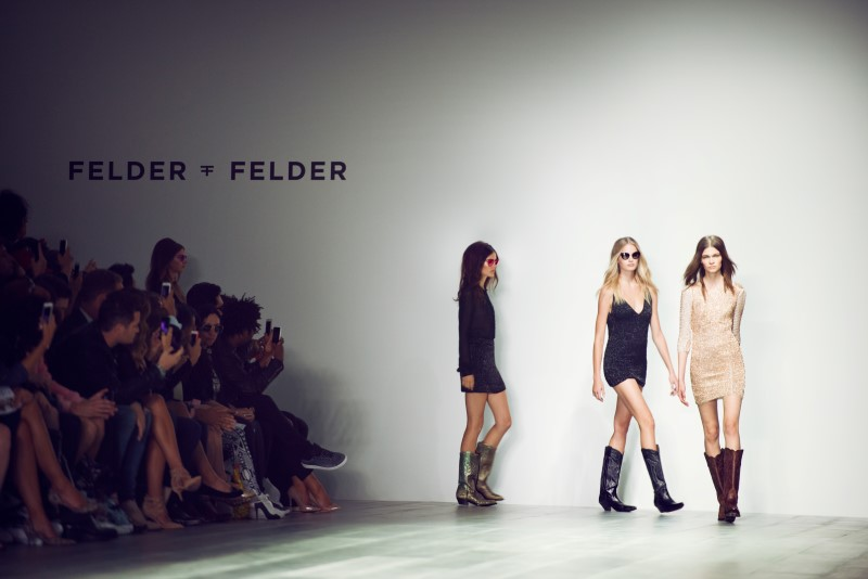 Catwalk der A/W 2014 Shows bei der London Fashion Week